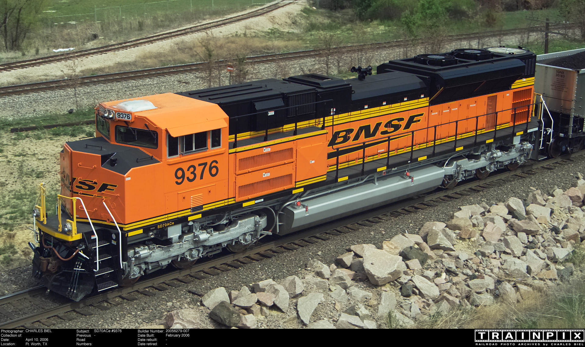 Ace >> The BNSF Photo Archive - SD70ACe #9376