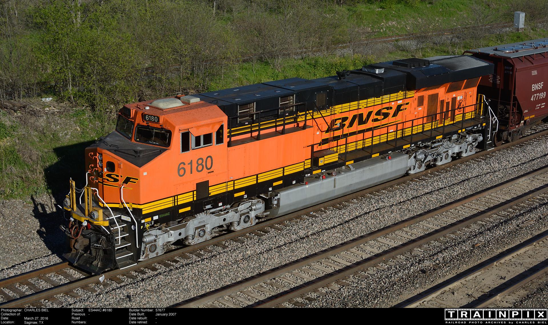 The BNSF Photo Archive - ES44AC #6180