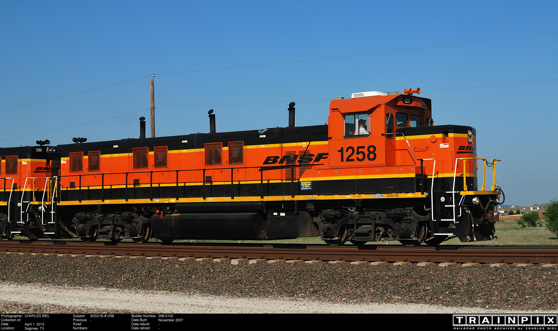 The BNSF Photo Archive - 3GS21B #1258.
